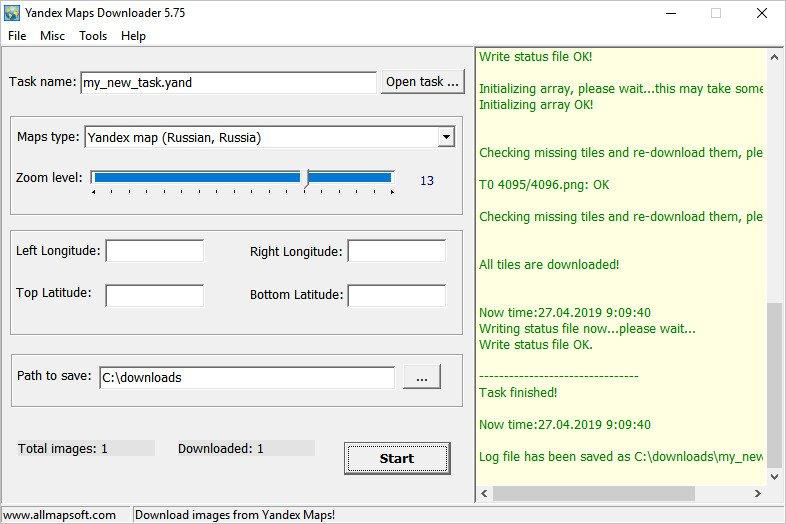 Download AllMapSoft Yandex Maps Downloader 5 75 - SoftArchive