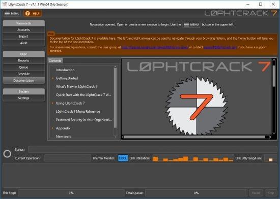 lophtcrack 7 tutorial