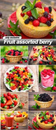 Fruit assorted berry   8 UHQ JPEG