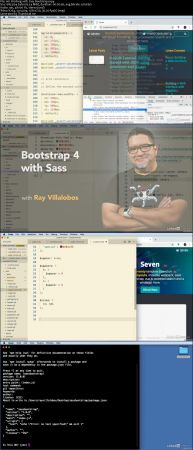 FreeCourseWeb ] Lynda - Bootstrap 4 with Sass (download torrent