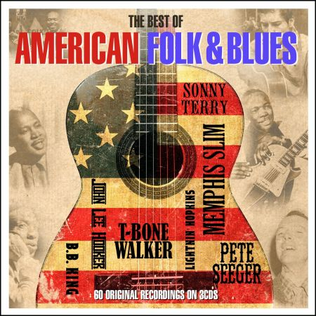 VA - The Best Of American Folk & Blues (3CD Box Set) - 2016, MP3