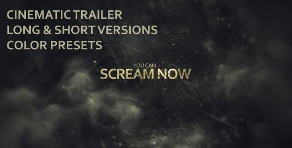 Videohive Evil Dead Trailer 18338309