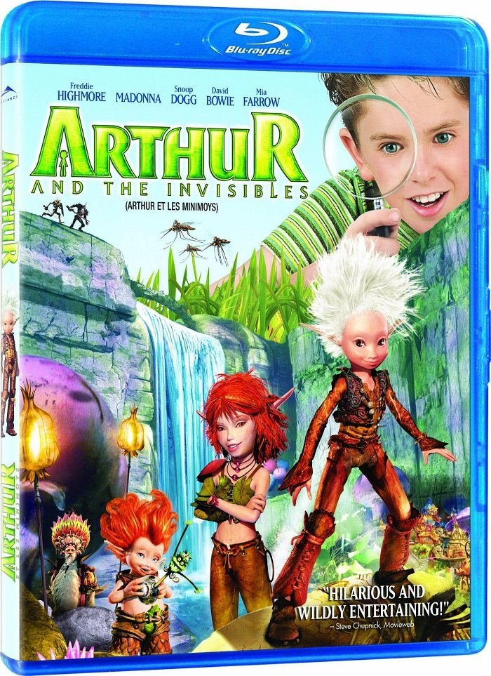 Download Arthur And The Invisibles 2006 1080p BluRay REMUX