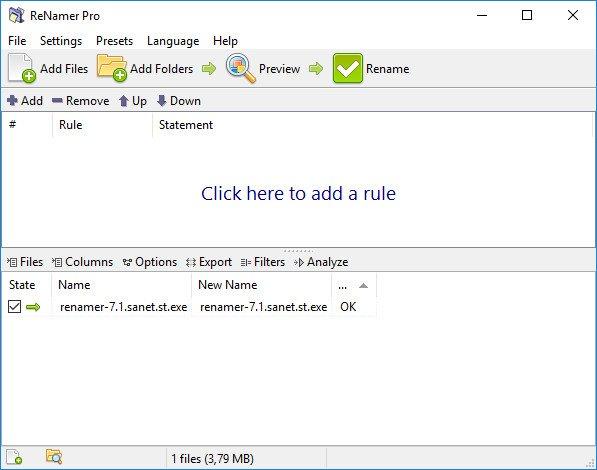 ReNamer Pro 7.1 Multilingual