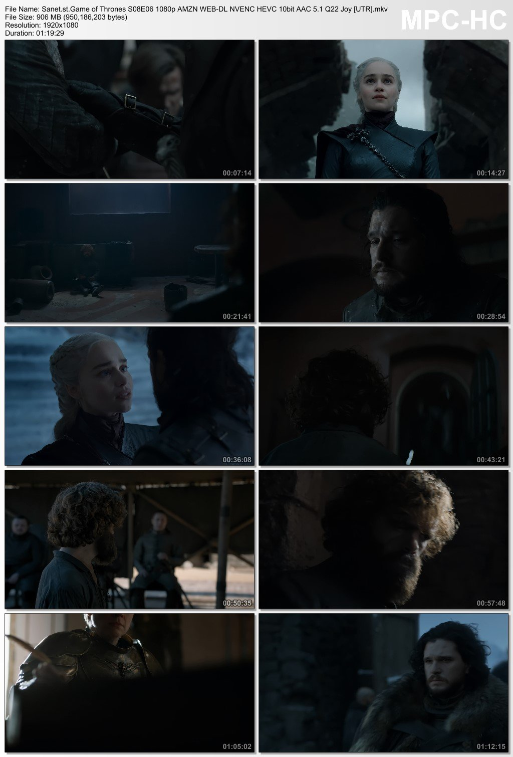 Download Game of Thrones S08E06 1080p AMZN WEB-DL NVENC HEVC