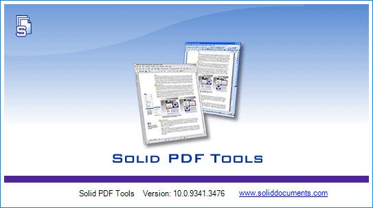Solid PDF Tools 10.0.9341.3476 Multilingual