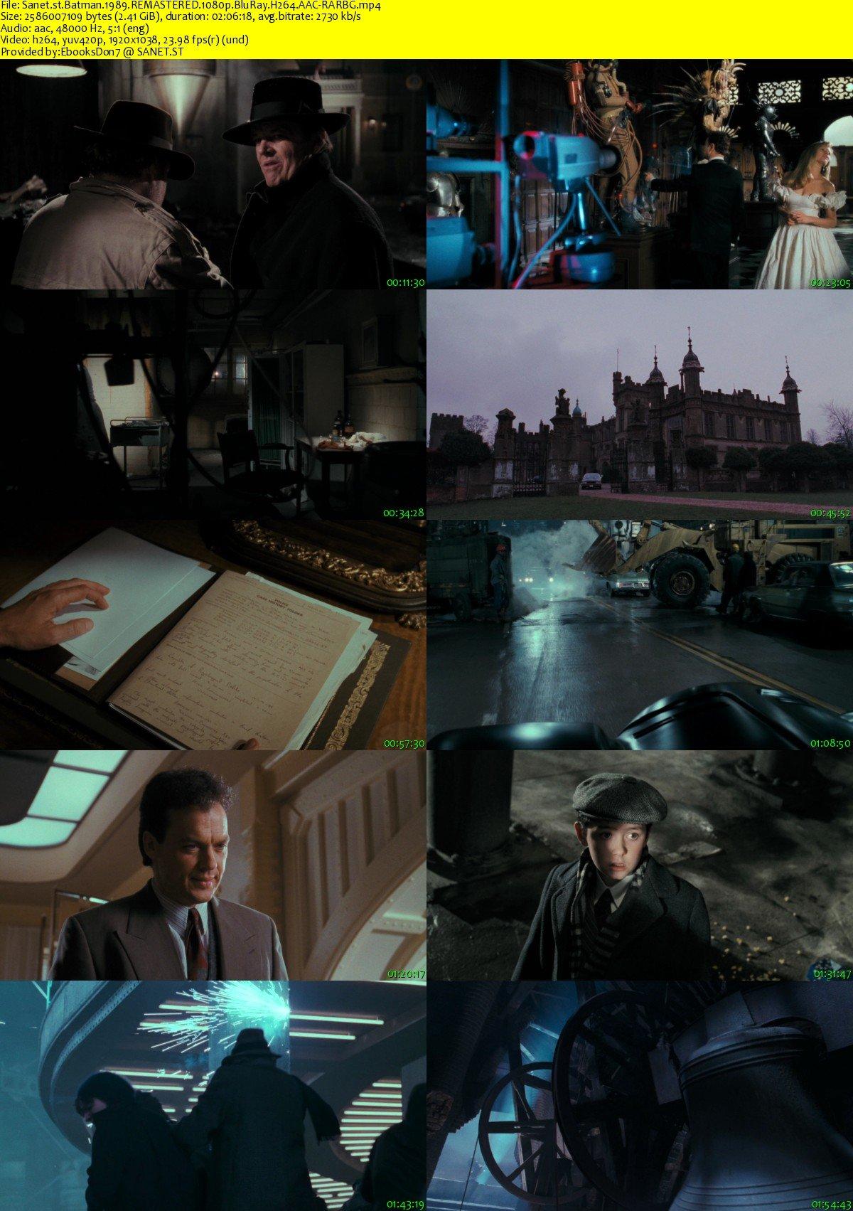 Download Batman 1989 REMASTERED 1080p BluRay H264 AAC-RARBG - SoftArchive