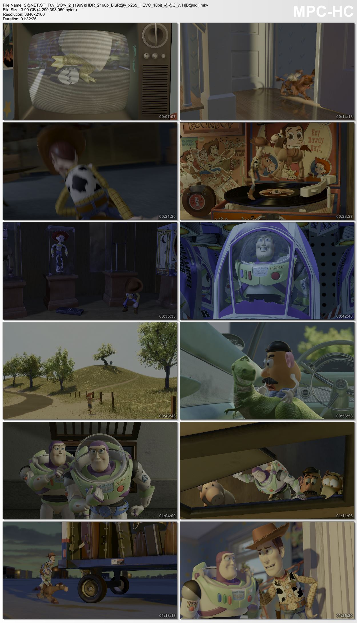 Download Toy Story 2 1999 HDR 2160p BluRay x265 HEVC 10bit AAC 7 1