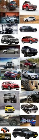 Jeep SUV big wheel dirt luxury car 25 HQ Jpeg