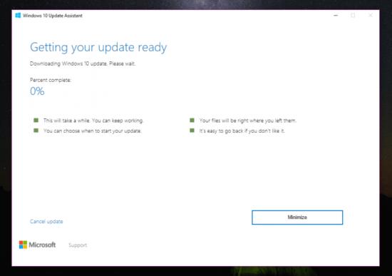 Download Windows 10 - Update Assistant v1 4 9200 22749 (for