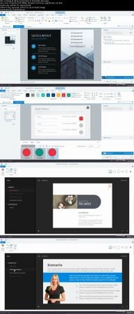 Download [ FreeCourseWeb ] Lynda - Articulate 360- Advanced Actions