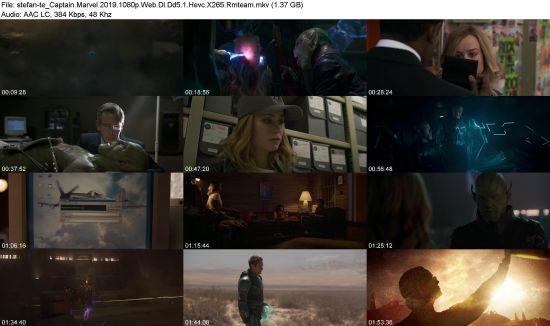 Download Captain Marvel (2019) 1080p Web-DL DD5.1 HEVC