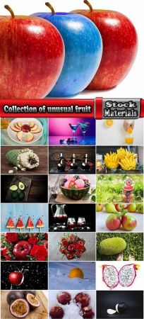 Collection of unusual fruit apple berry mulberry juice chocolate banana watermelon 25 HQ Jpeg