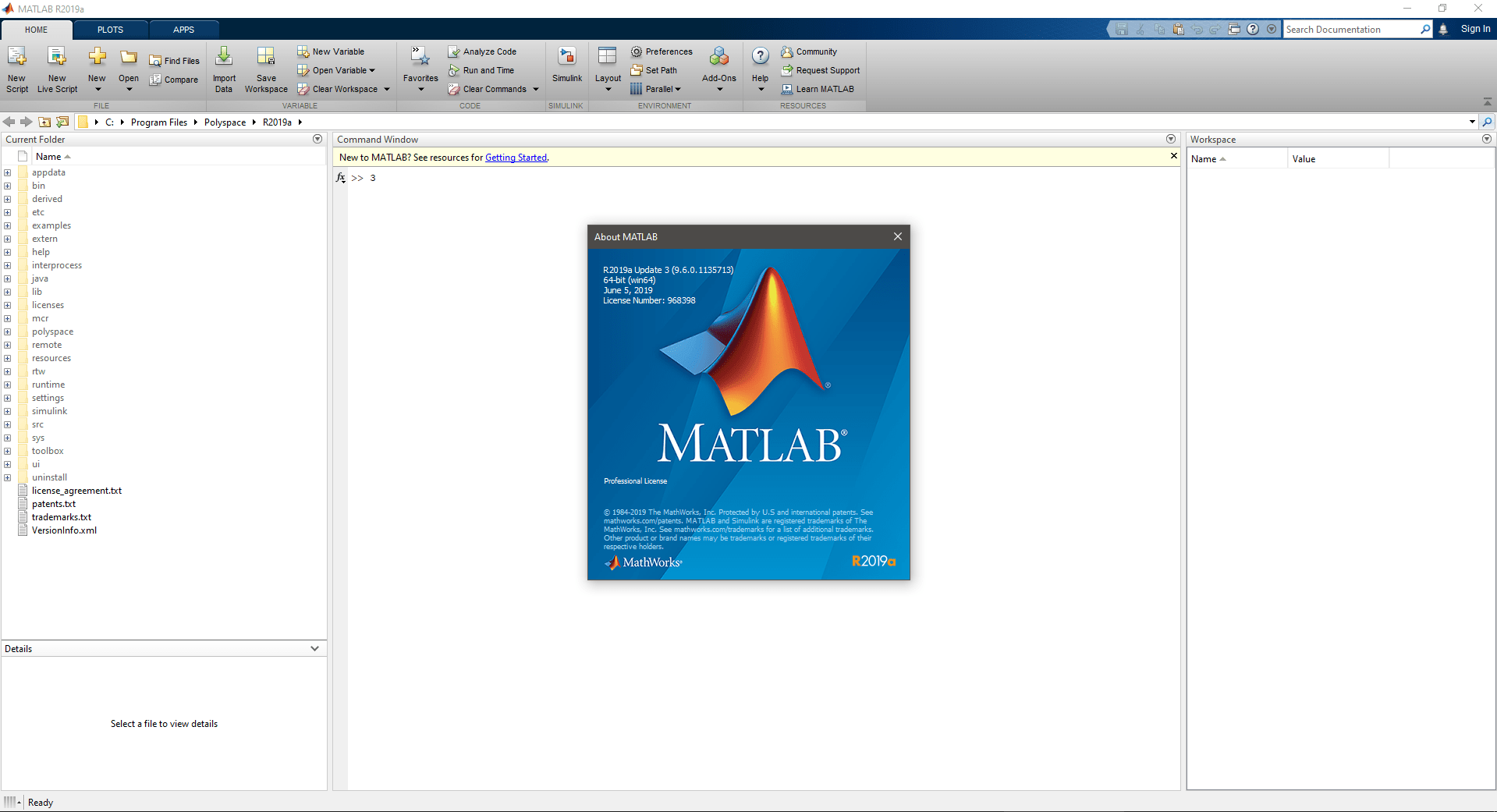 Download MathWorks MATLAB R2019a v9 6 0 1135713 Update 3