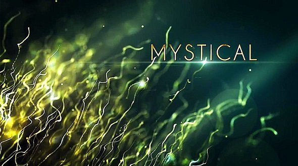 Download Mystical Particles Titles - After Effects Templates