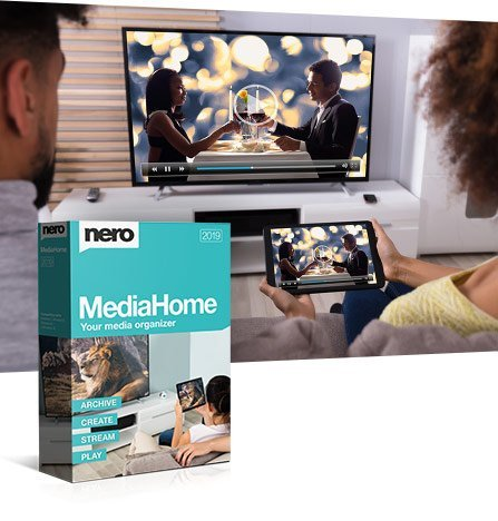 Nero MediaHome 2019 Standard v4.0.1108 Multilingual