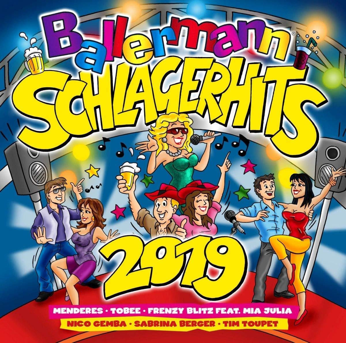 Ballermann Schlager Hits 2019 (2CD)(2019
