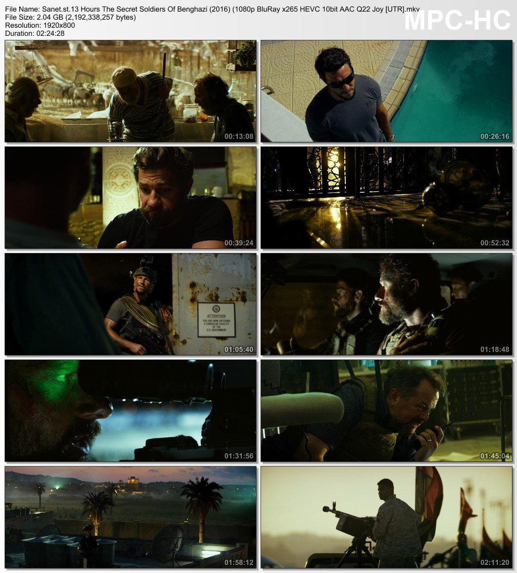 Download 13 Hours The Secret Soldiers Of Benghazi 2016 1080p BluRay