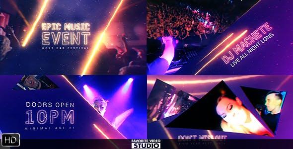 TGx:Videohive Epic Music Event 16029921 - DesignOptimal