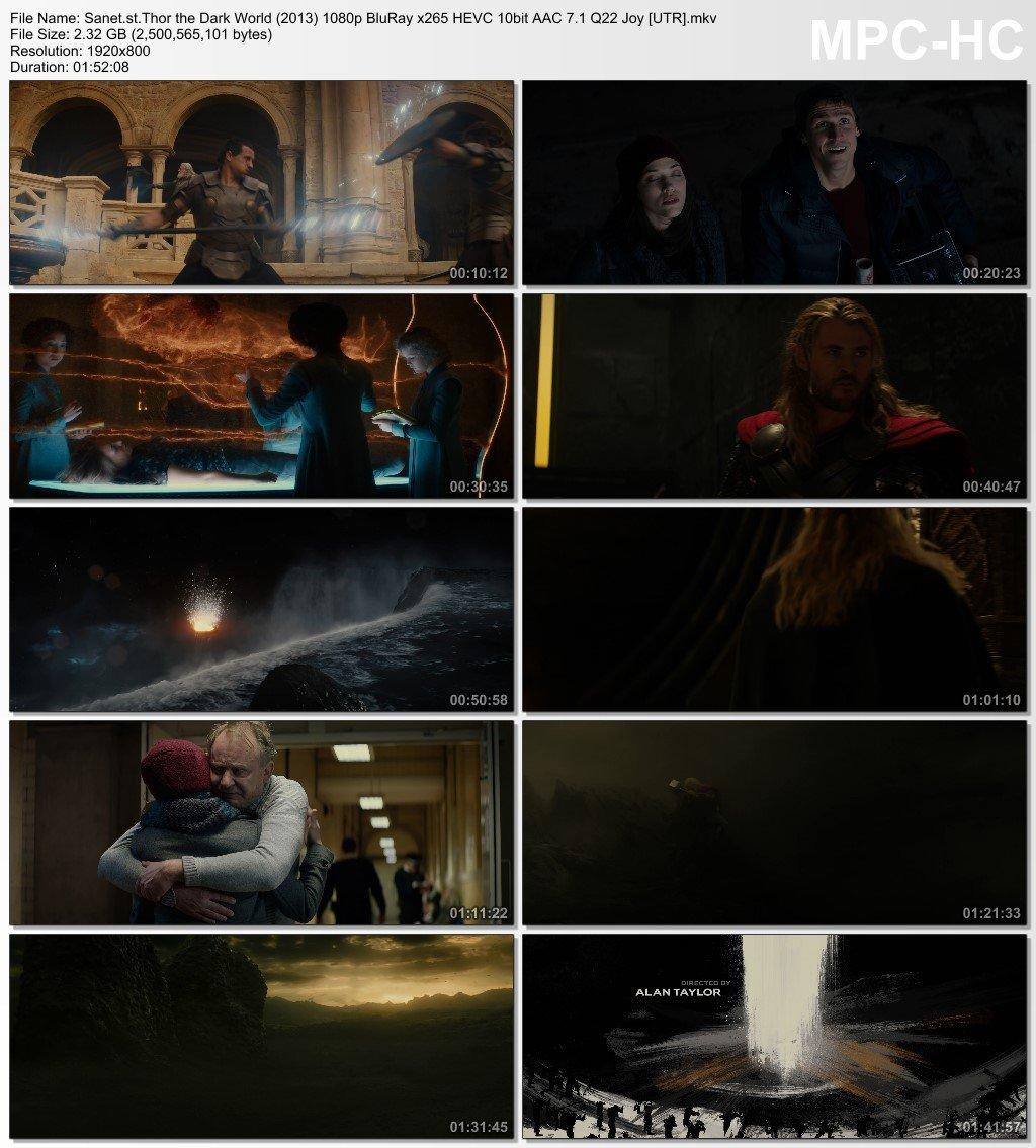 Download Thor the Dark World 2013 1080p BluRay x265 HEVC 10bit AAC