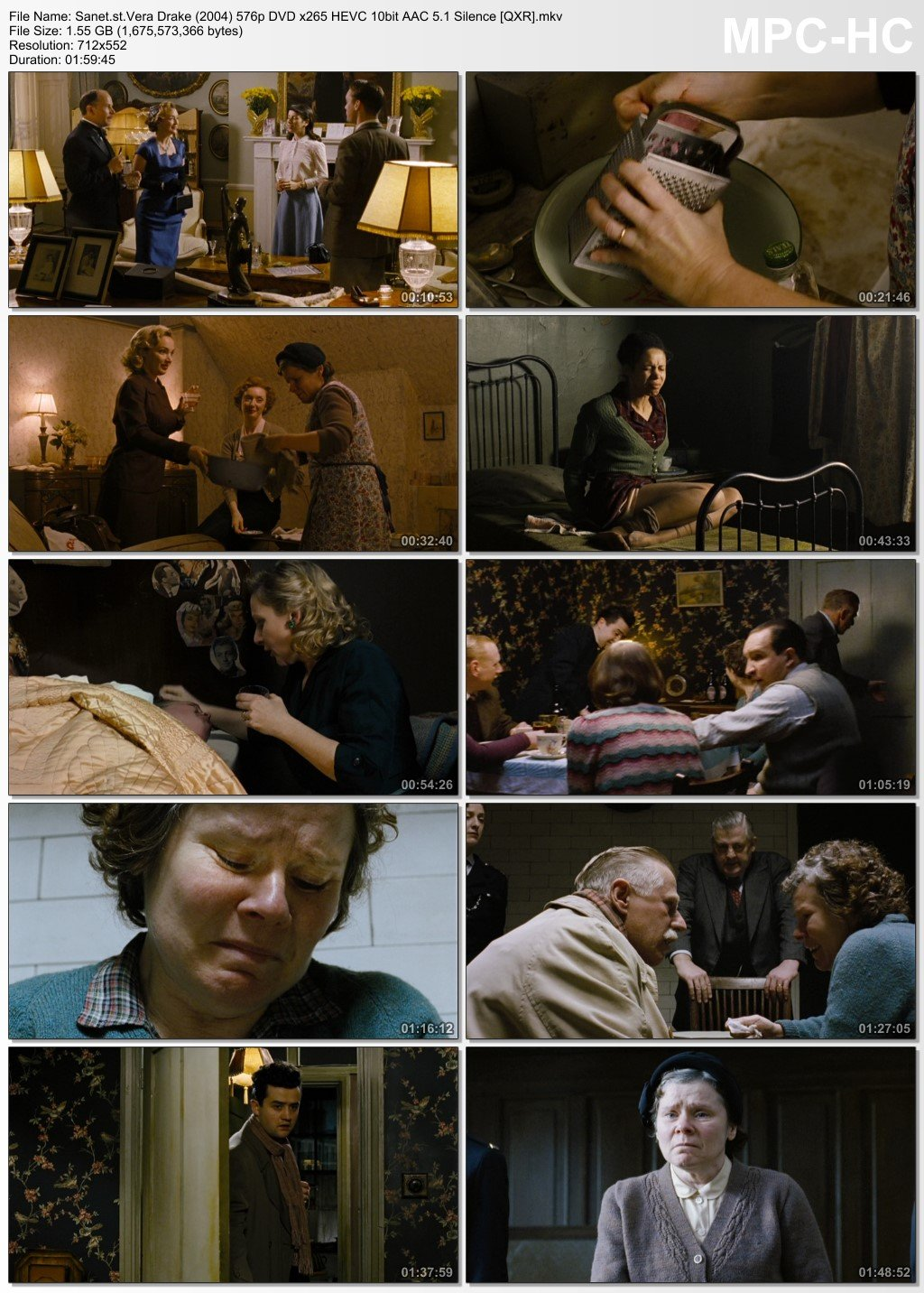 Download Vera Drake 2004 576p Dvd X265 Hevc 10bit Aac 5 1