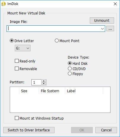 ImDisk Toolkit 20190629