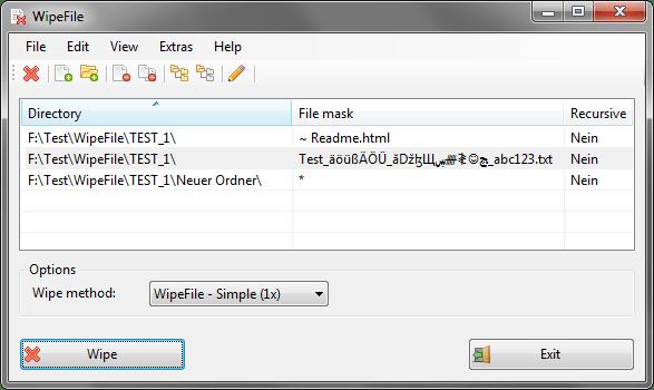 WipeFile 3.2