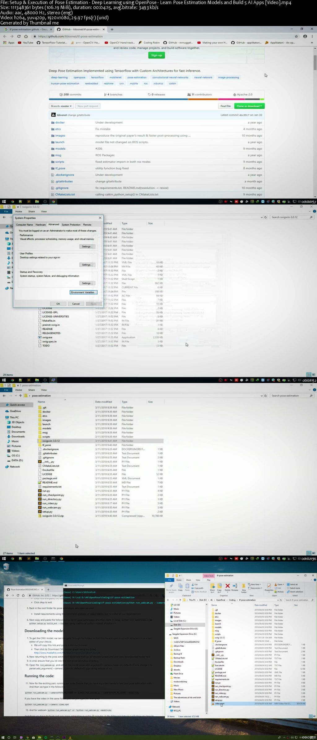 Openpose Python Tutorial