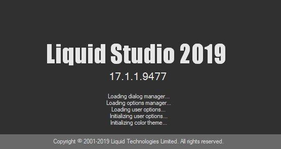Liquid Studio 2019 17.1.1.9477