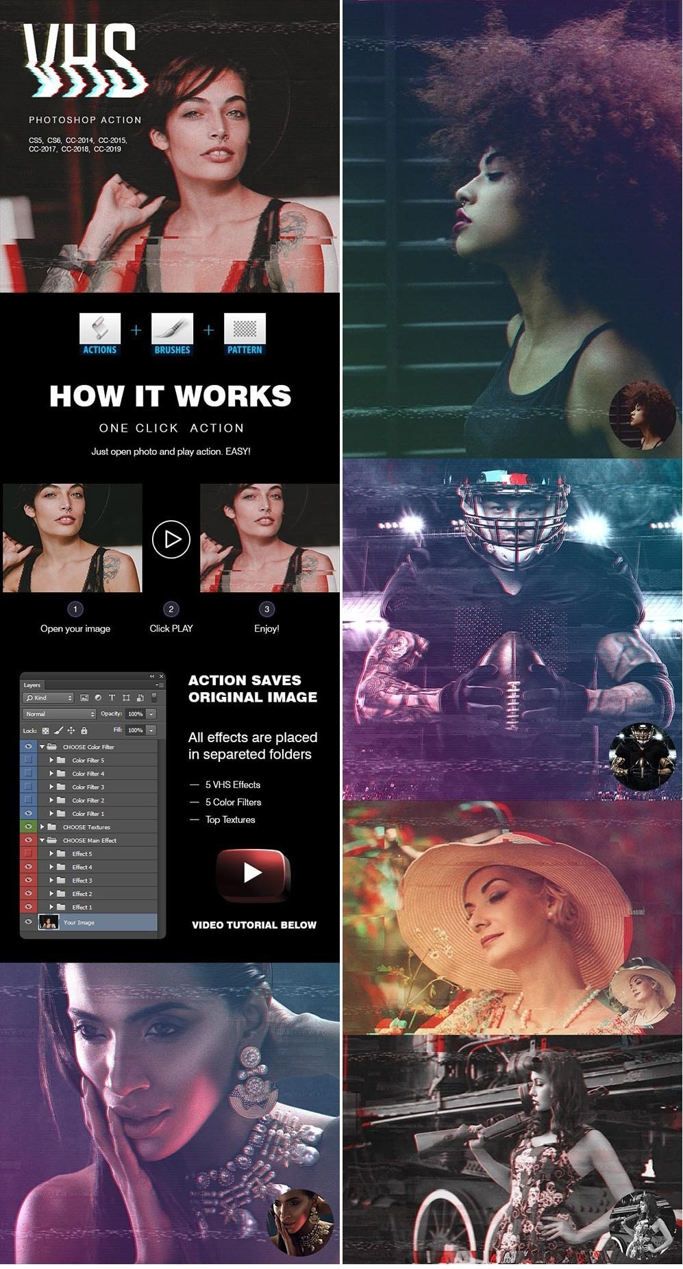 Download VHS Photoshop Action 23348871 - SoftArchive