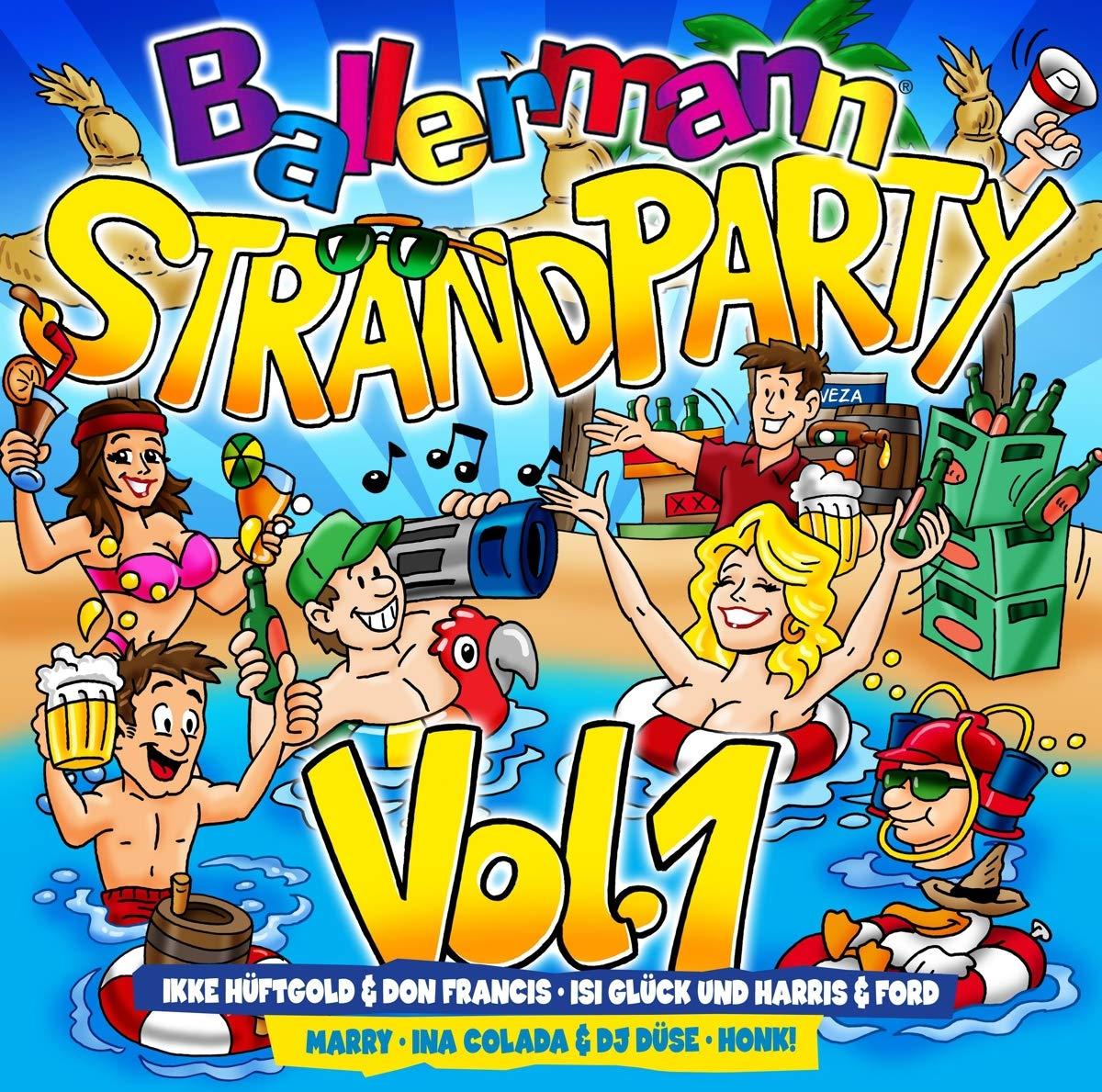 Ballermann Strandparty Vol.1 (2019) Mp3
