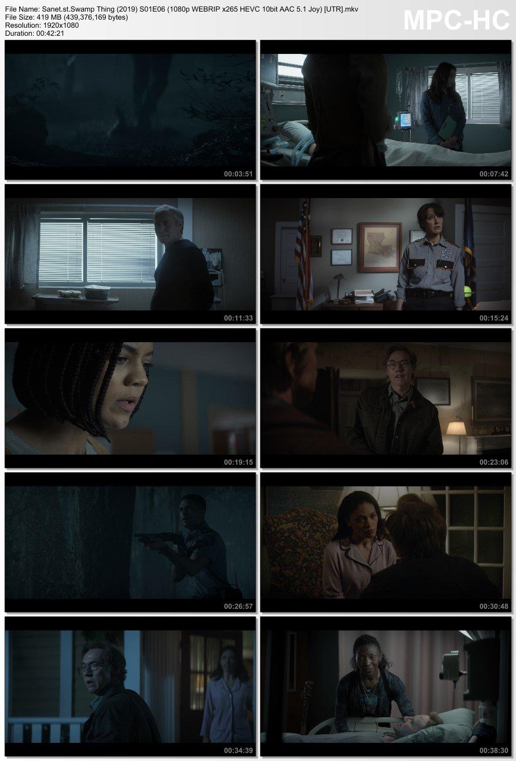 Download Swamp Thing 2019 S01E06 1080p WEBRIP x265 HEVC 10bit AAC
