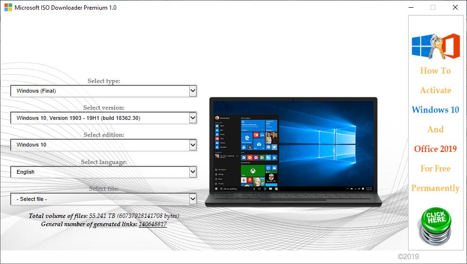 Microsoft ISO Downloader Pro 2020 2.3 [Multilenguaje] [Dos Servidores] RrvWy4Ym9PUTIbpaCNtb3kouHwhCLZMd