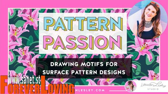 Pattern Passion Drawing Motifs for Surface Pattern Designs