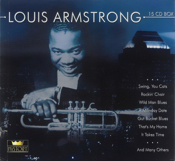 Download Louis Armstrong - Complete History (15 CD Box Set