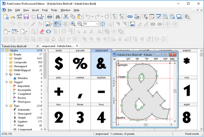 High-Logic FontCreator 12.0.0.2545 Professional