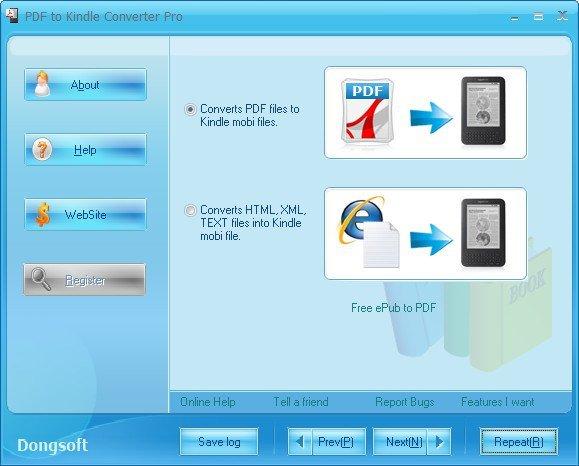 PDF to Kindle Converter Pro Portable