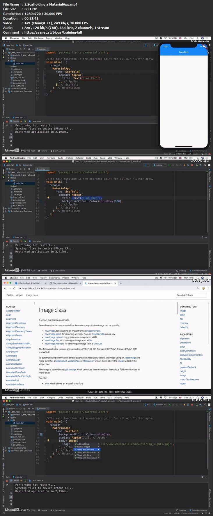 Download Flutter Part 2 - Building Apps (Beginner) - SoftArchive