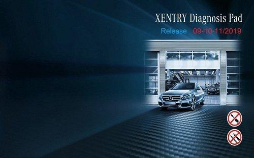 XENTRY Diagnostics OpenShell 2019.09