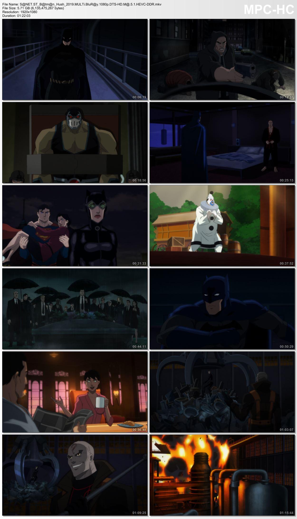 Review Batman Hush, Sebuah Film Batman yg Perfect
