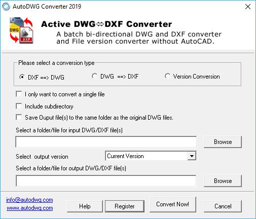 Download DWG DXF Converter 2019 v3 88 - SoftArchive