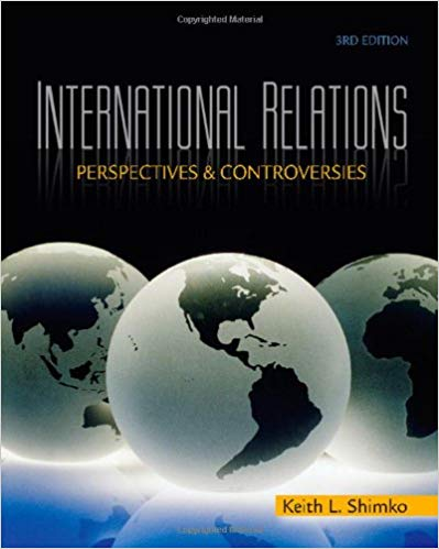 Download International Relations: Perspectives and Controversies Ed