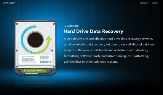 IUWEshare Hard Drive Data Recovery Professional 7.9.9.9