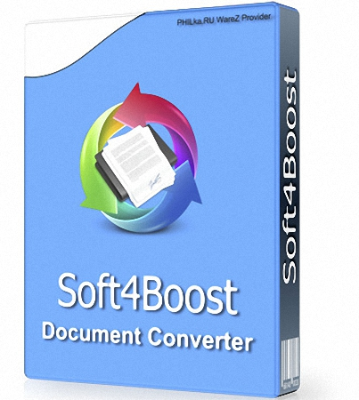 Soft4Boost Document Converter 5.9.9.209 Multilingual