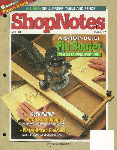 Woodworking Shopnotes 037 - Shop Built
