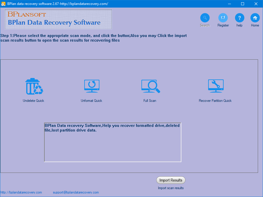 Bplan Data Recovery Software 2.67