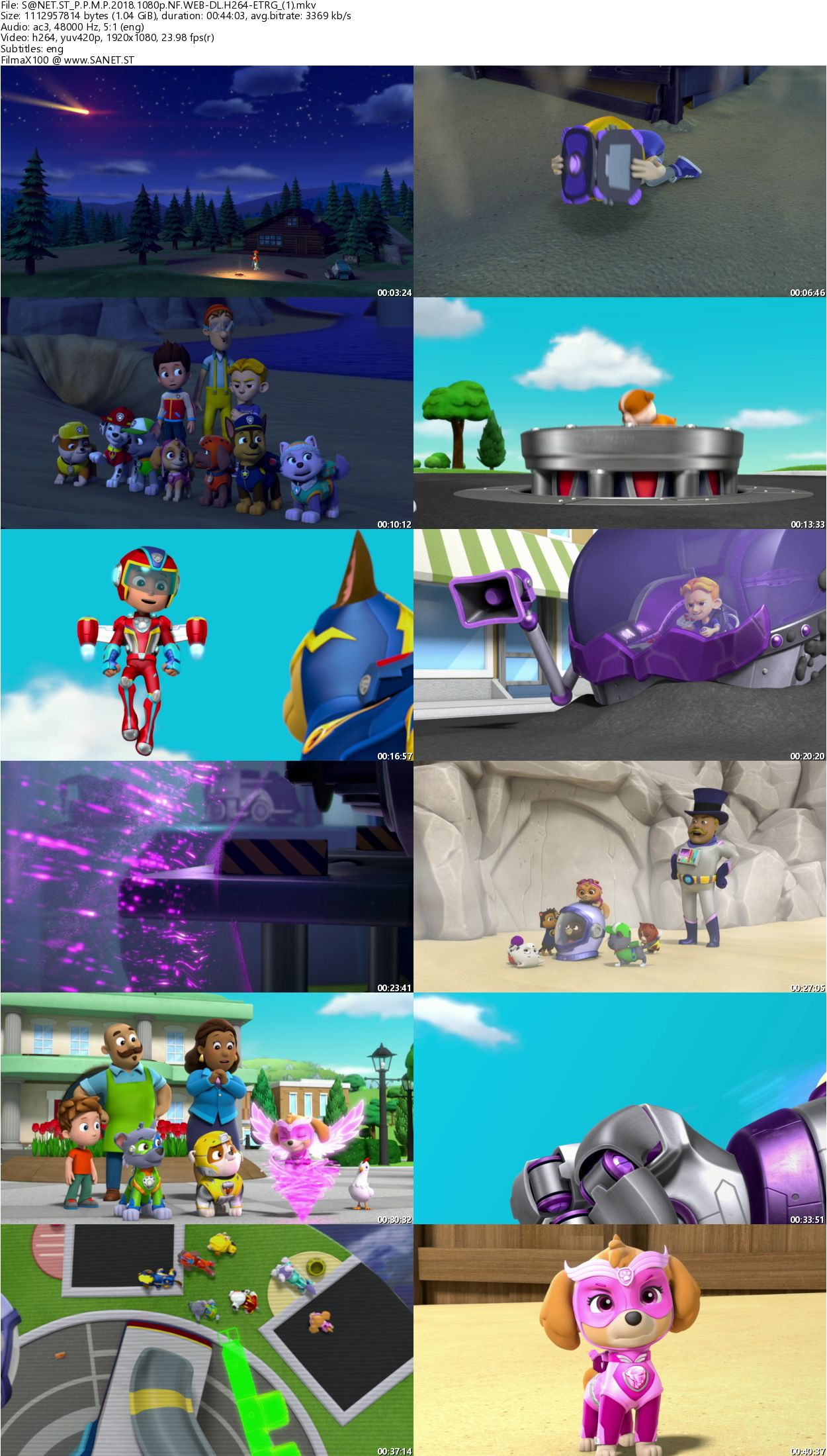 Download PAW Patrol Mighty Pups 2018 1080p NF WEB-DL H264
