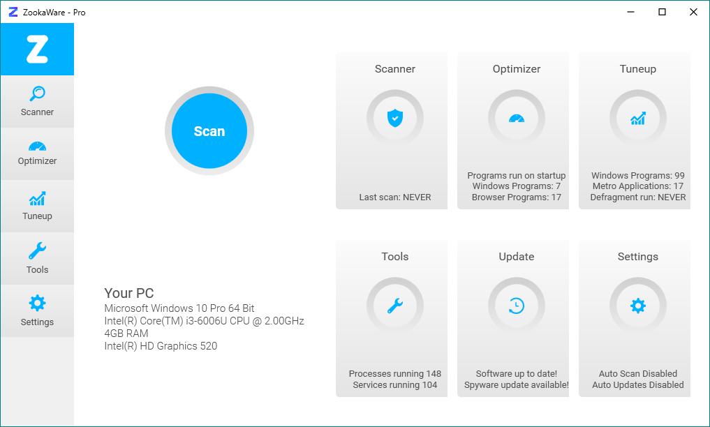 ZookaWare Pro 5.2.0.9 [Elimina spyware y programas no deseados] [Ingles] [UL.IO] ECfoyu6sKS0PyZvHDtFxrxsgxu4S46gi
