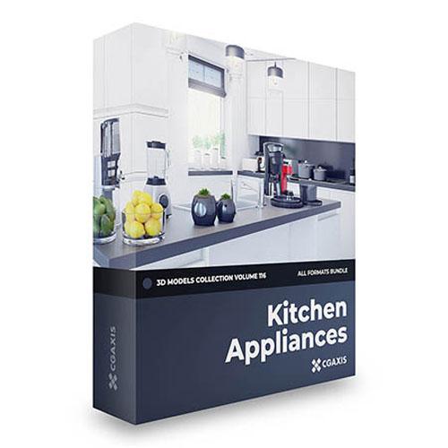 Kitchen Appliances   3D Models Collection Vol.116