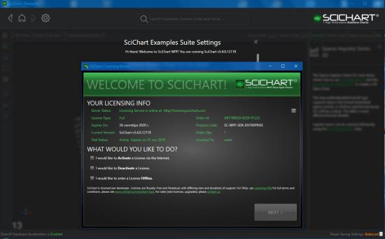 SciChart WPF SDK 5.4.0.12119